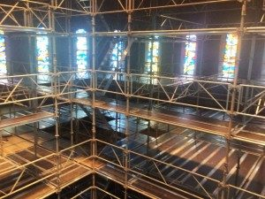 Scaffolding Project At National Shrine