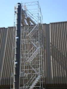 Construction Trash Chutes Scaffolding Solutions