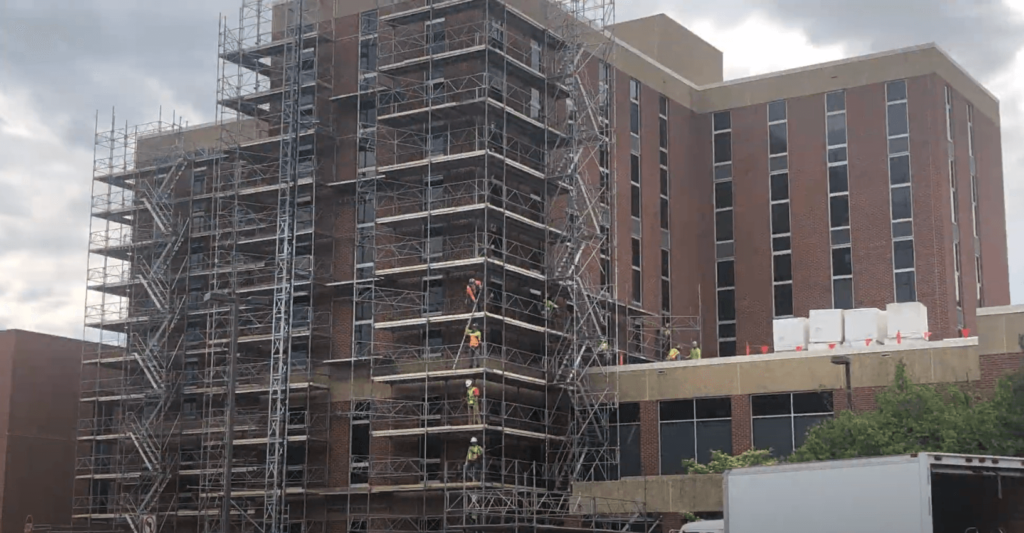 Scaffolding Solutions project at James Madison University